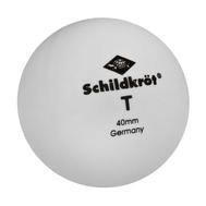 Мяч для настольного тенниса DONIC T-ONE, белые (6 шт), фото 1