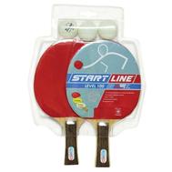 Набор теннисный START LINE LEVEL 100 (2 ракетки, 3 мяча), фото 1