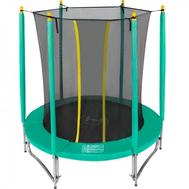 Небольшой каркасно-складной батут для детей - HASTTINGS CLASSIC GREEN 6FT, с защитной сеткой, фото 1