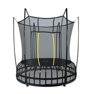 Каркасный уличный батут на рессорах - HASTTINGS SPACE, защитная сетка, вес пользователя до 150 кг, фото 1
